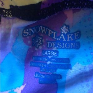 Snowflake Designs Bottoms - 3 for $20